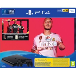 Playstation 4 slim 1tb + Fifa 20 + Dualshock 4