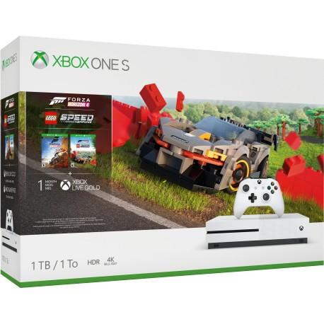 Microsoft Xbox One S 1TB + Forza Horizon 4 + Lego Speed Champions