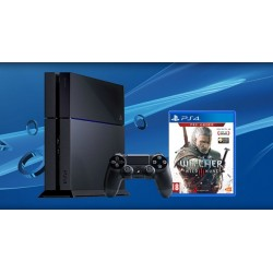 Sony PlayStation 4 500Gb + The Witcher 3: Wild Hunt