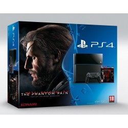 Sony PlayStation 4 500Gb + Metal Gear Solid V