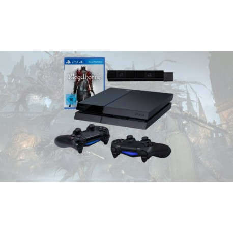 PS4 + Camera + dualshock 4 x2 +Bloodborne