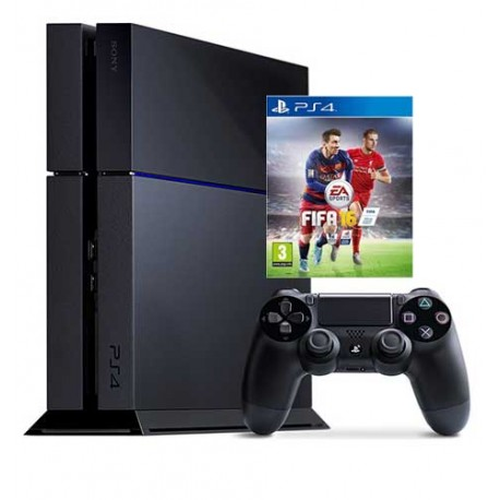 Sony PlayStation 4 500Gb + fifa 15