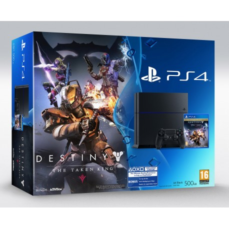 PS 4 + destiny the taken king
