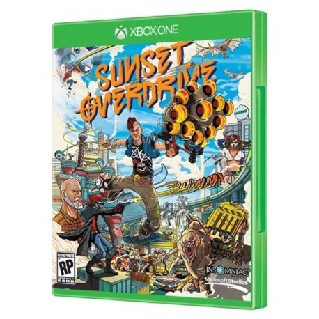 Диск Sunset Overdrive