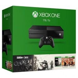 Xbox One 1TB + Tom Clancy's Rainbow Six (три частини)