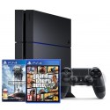 Sony PlayStation 4 1TB + GTA V + Star Wars Battlefront