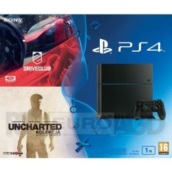 PS4 1Tb + UNCHARTED: Collection + DriveClub
