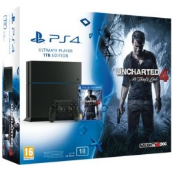 Sony PlayStation 4 1TB+ игра Uncharted 4: Путь Вора