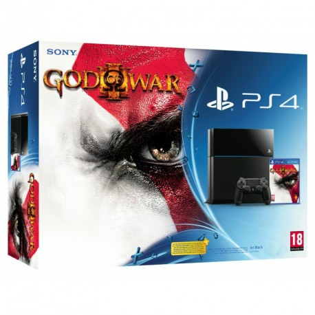 Sony PlayStation 4 1TB + The God of War 3