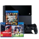Sony PlayStation 4 1TB + GTA V + Fifa 16 + DriveClub