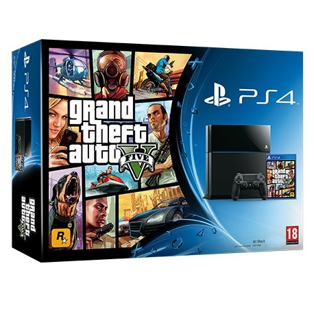 Sony PlayStation 4 1000Gb + GTA5