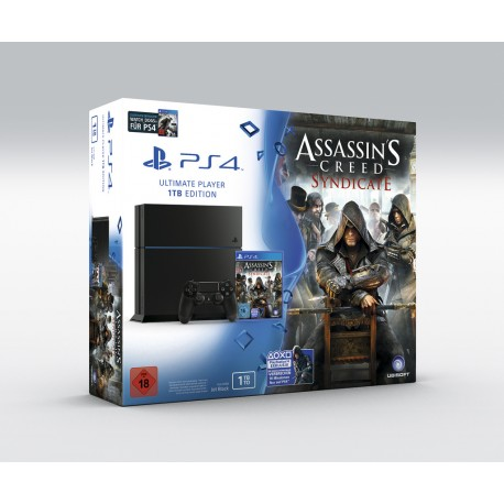 Sony PlayStation 4 500Gb + Assassin's Creed Syndicate