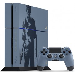 Sony PlayStation 4 1TB, Uncharted 4 Limited edition (без диска)