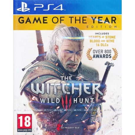 The Witcher 3: Wild Hunt Game Of The Year Edition на PS4