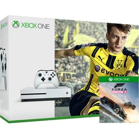 Xbox One S 1TB + Fifa 17 + Forza Horizon 3