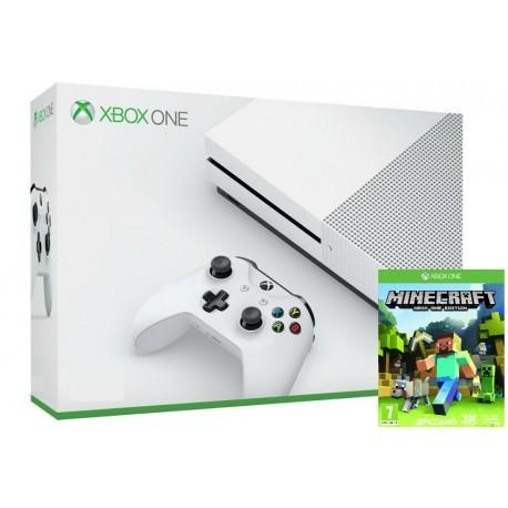 Xbox One S + Minecraft