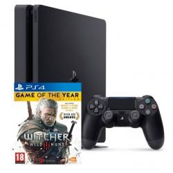 Sony PlayStation 4 Slim + Witcher 3 GOTY (CUH-2016)