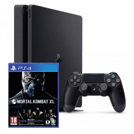 Sony PlayStation 4 Slim + Mortal Kombat XL (PS4)