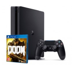 Sony PlayStation 4 Slim + DOOM (PS4)