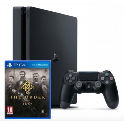 PS4 Slim + The Order 1886