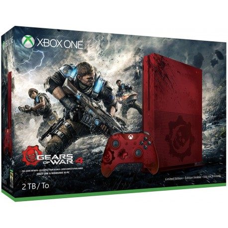 Xbox One S 2TB Gears of War 4 Limited Edition