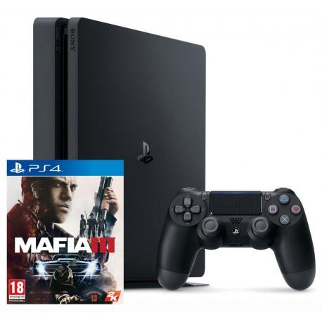 PS4 Slim + Mafia 3
