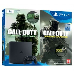 PS4 Slim 1TB + COD: Infinite Warfare, COD: Modern Warfare Remastered