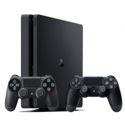 PS4 Slim 1TB + gamepad x2