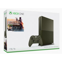 Xbox One S 1TB + Battlefield 1 (military green)