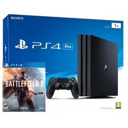 PlayStation 4 Pro 1Tb + Battlefield 1 (PS4)