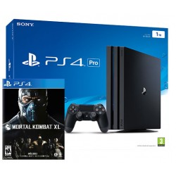 PlayStation 4 Pro 1Tb + Mortal Kombat XL (PS4)