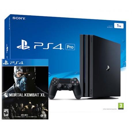 PlayStation 4 Pro 1Tb + Mortal Kombat XL (PS4)