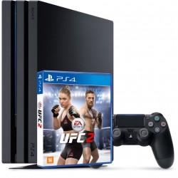PS4 Pro + UFC 2