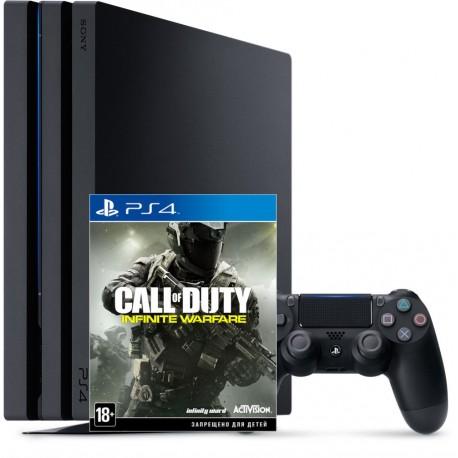 PS4 Pro + COD: infinite warfare