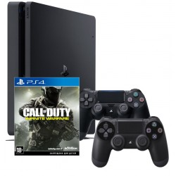 PS4 Slim + COD: infinite warfare + gamepadx2