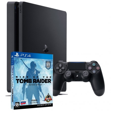 PS4 Slim + Rise Of The Tomb Raider 20 Year Celebration
