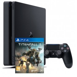 Sony PlayStation4 slim + Titanfall 2 (PS4)