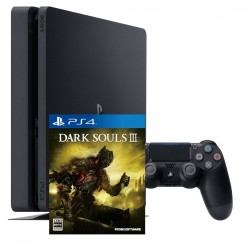 Sony PlayStation 4 slim + Dark Souls 3 (PS4)