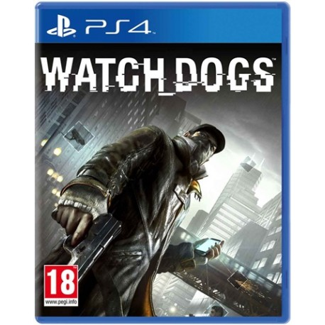 Диск Watch Dogs (PS4)