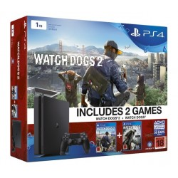 PS4 1tb + Watch dogs 1 і 2