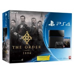 Sony PlayStation 4 500Gb + The Order 1886