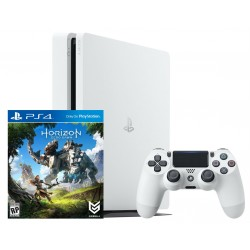 PS4 Slim 500gb (white) + Horizon Zero Dawn