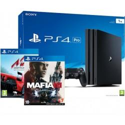 PS4 Pro +Mafia 3 + Assetto Corsa