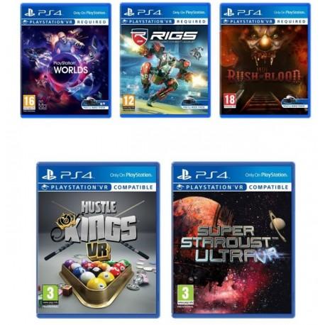 Аренда игр на PS VR