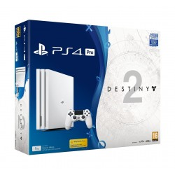 Sony Playstation 4 Pro 1TB (white) + Destiny 2