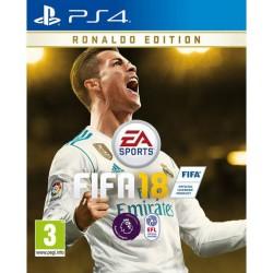 Fifa 18 на ps4 (ronaldo edition)