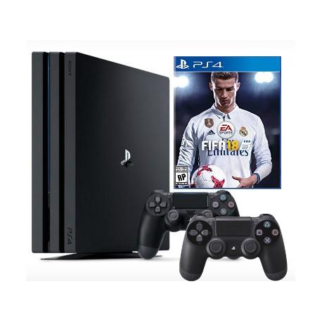 PS 4 Pro + Fifa 17 + gamepad