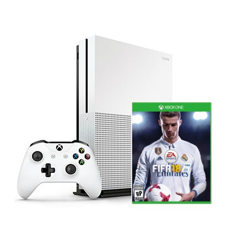 Xbox One S + Fifa 18