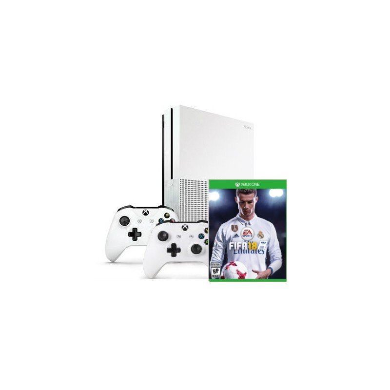 xbox one s fifa 18 gamepad x2. Black Bedroom Furniture Sets. Home Design Ideas