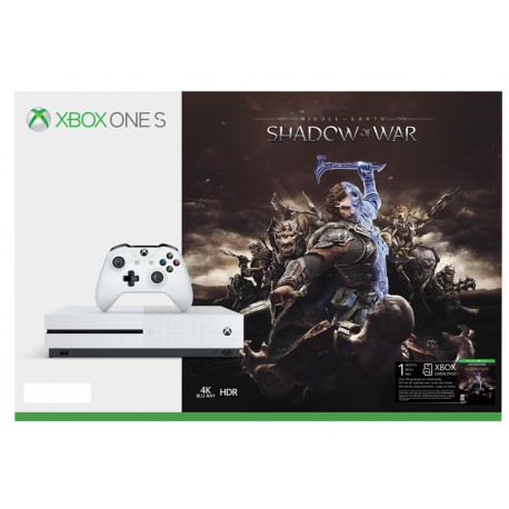 Xbox One S + Middle-earth: Shadow of War